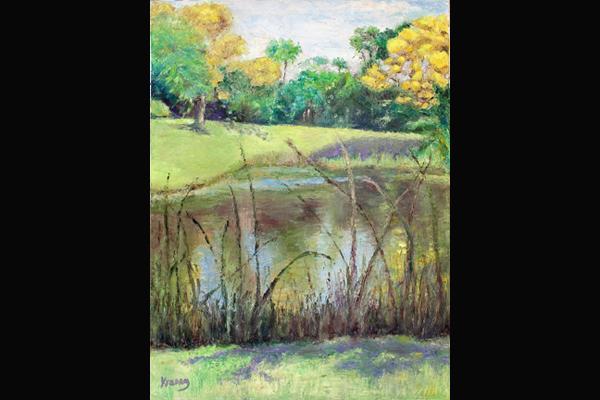 Krasny Across the Pond, Sea Grape Gallery