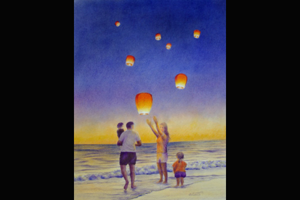 Tuttle Beach Celebration, Sea Grape Gallery