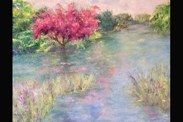 Krasny Spring in the Garden, Sea Grape Gallery