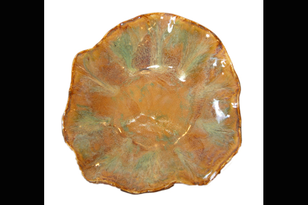 Benande Earth & Green Platter, Sea Grape Gallery