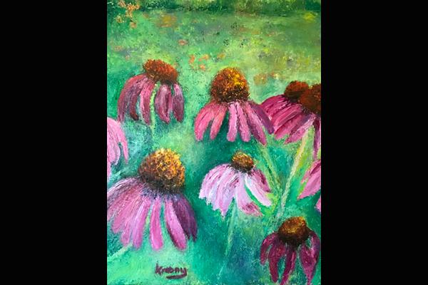 Krasny Floral Rhythms, Sea Grape Gallery