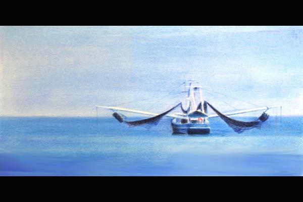 Tuttle East Coast Dragger, Sea Grape Gallery