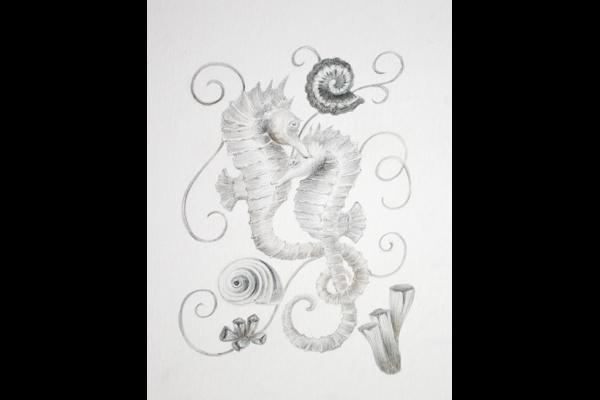 Tuttle Sea Horse Love, Sea Grape Gallery