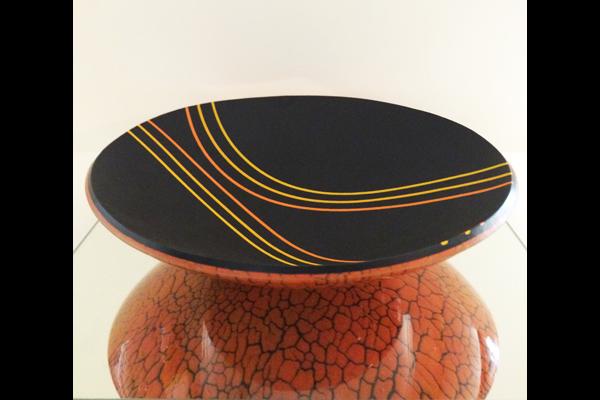 Farr Tangerine Swirl, Sea Grape Gallery