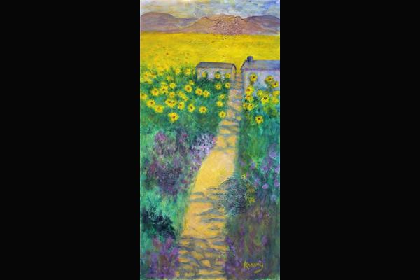 Krasny Provence Sunflowers, Sea Grape Gallery