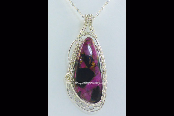 VanTassell Pink Copper Obsidian, Sea Grape Gallery