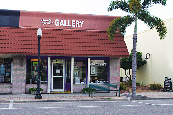Front entrance, Sea Grape Gallery
