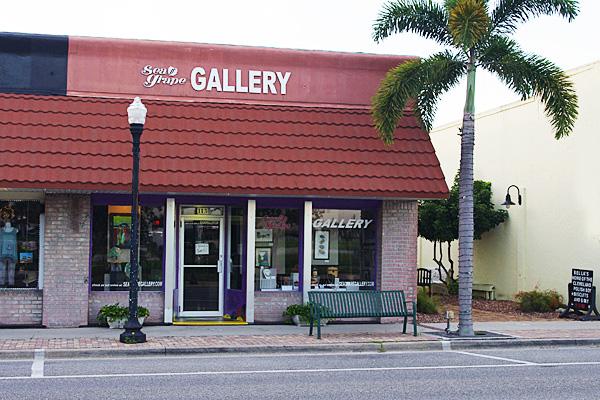 Front entrance, Sea Grape Gallery