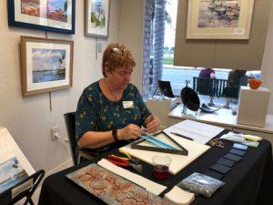 Renee Farr Demo, Sea Grape Gallery