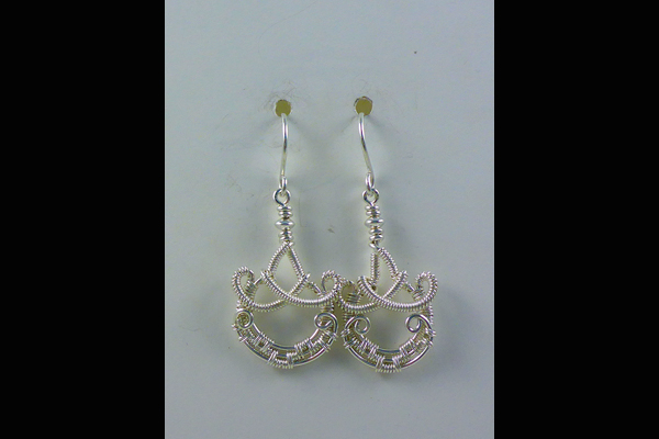 VanTassel Wire Wrapped Earrings 2, Sea Grape Gallery