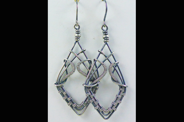 VanTassell Wire Wrapped Earrings, Sea Grape Gallery