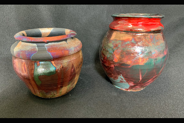 Jones Raku Pieces, Sea Grape Gallery