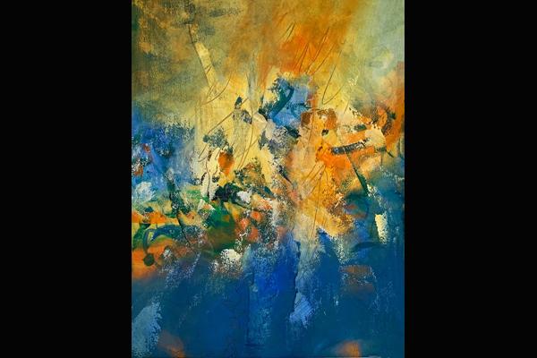 Bev Yankwitt, Life's a Party, Sea Grape Gallery (22x30)