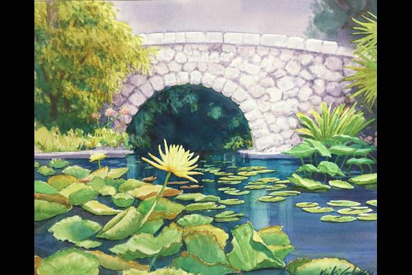 Glynn Garden Bridge, Sea Grape Gallery
