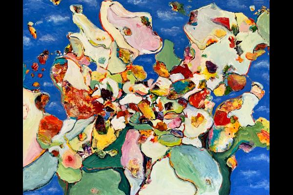 lbin, Setting Free, Acrylic, 24 x 30, Sea Grape Gallery