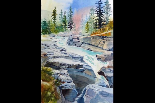 Beech, Rocky Mountain Stream, Sea Grape Gallery