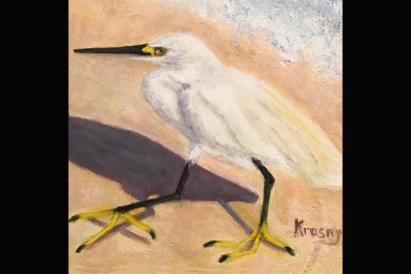 Sue Krasny, Flat Foot Fred, Sea Grape Gallery