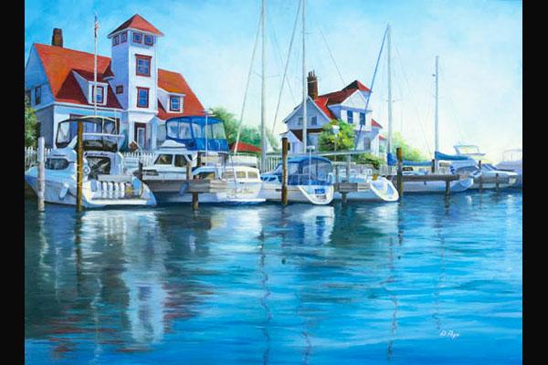 Donna Pape, Coast Guard Station, Sea Grape Gallery