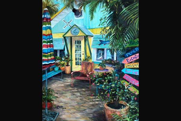 Donna Pape, Hatch Gallery, Sea Grape Gallery