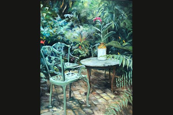 Donna Pape, Hunt's Garden, Sea Grape Gallery