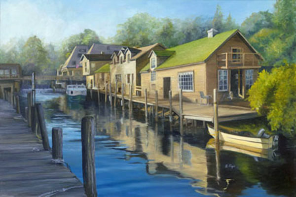 Donna Pape, Leland Fishtown, Sea Grape Gallery