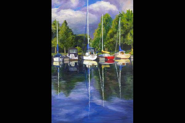 Donna Pape Sutton Bay, Sea Grape Gallery