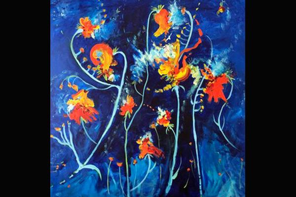 Barb Albin, Night Dancing, Sea Grape Gallery