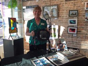 Cheryl McCure Photography Demo, Sea Grape Gallery