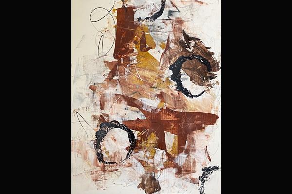 Bev Yankwitt, Approach of Winter, 22x30, Acrylic, Sea Grape Gallery
