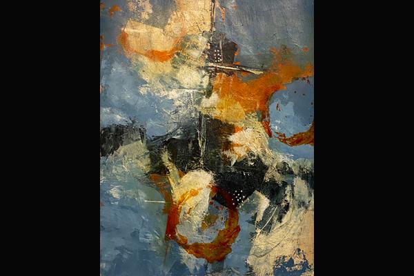 Bev Yankwitt, August Storm, 22x30, Acrylic, Sea Grape Gallery