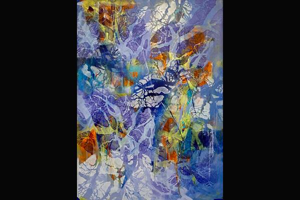 Bev Yankwitt, Shady Retreat, 22x30, Acrylic, Sea Grape Gallery